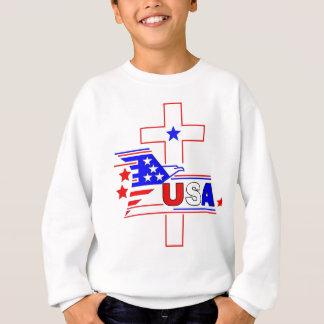 Sweatshirt Le chrétien américain