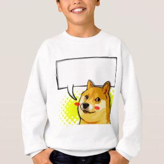 Sweatshirt Le doge Meme de personnaliser ajoutent votre