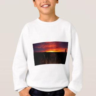 Sweatshirt Le feu dans le ciel au lever de soleil