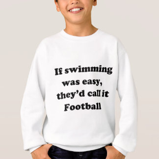 Sweatshirt Le football de natation