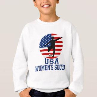 Sweatshirt Le football des femmes des Etats-Unis
