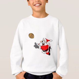 Sweatshirt Le football Père Noël