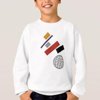 Sweatshirt Le globe superbe, après Malevich