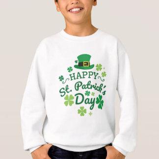 Sweatshirt Le jour de St Patrick heureux mignon chanceux