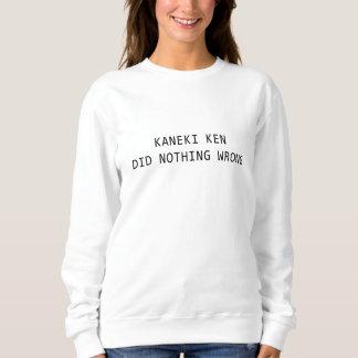 Sweatshirt le kaneki ken n'a fait rien mal