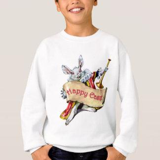 Sweatshirt Le lapin blanc d'Alice vous souhaite de Joyeuses
