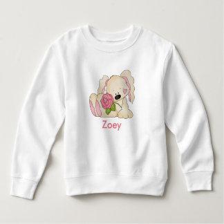 Sweatshirt Le lapin personnalisé de Zoey