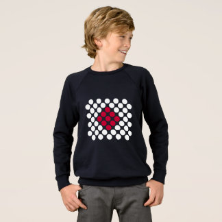 Sweatshirt Le minimaliste de drapeau du Japon pointille le