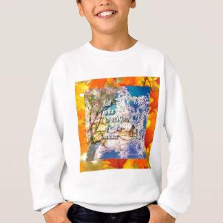 Sweatshirt Le ressort des débuts d'hiver dans l'automne
