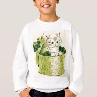Sweatshirt Le rétro jour vintage de Patrick de saint de