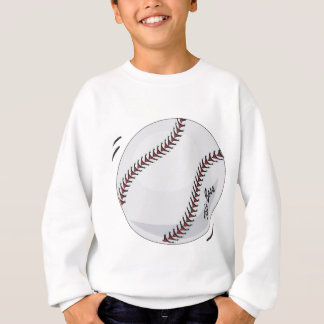 Sweatshirt Le thème de base-ball de patron