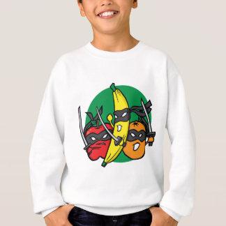 Sweatshirt Les fruits battent en retraite