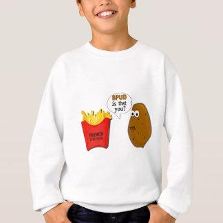 Sweatshirt Les pommes frites de pomme de terre sont que vous