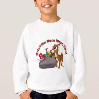 Sweatshirt Les vêtements manqués ont plus d'amusement