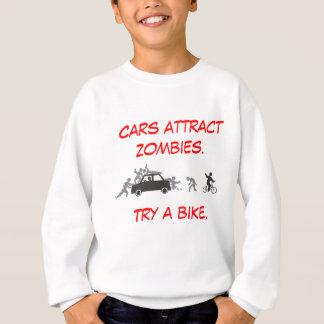 Sweatshirt Les voitures attirent des zombis