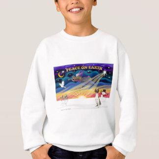 Sweatshirt Lever de soleil de Noël - fox-hound américain 1