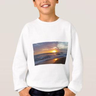 Sweatshirt Lever de soleil externe de banques de lever de