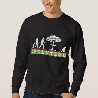 Sweatshirt L'évolution drôle évoluent