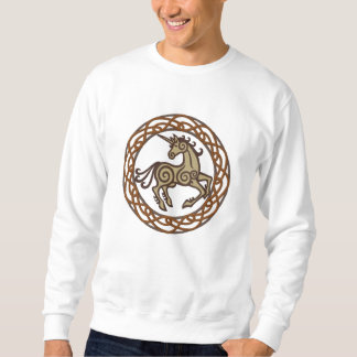 Sweatshirt Licorne celtique