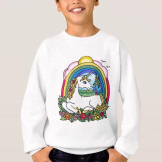 Sweatshirt Licorne et arc-en-ciel