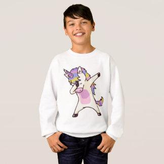 Sweatshirt Licorne tamponnante