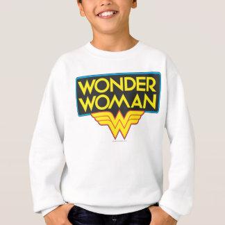 Sweatshirt Logo 3 de femme de merveille