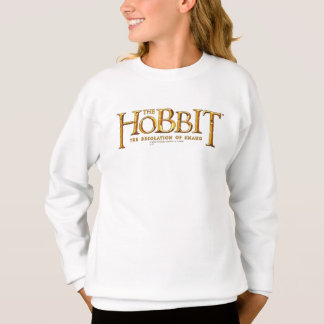 Sweatshirt Logo de Hobbit - or