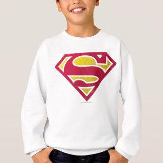 Sweatshirt Logo de points affligé par | de S-Bouclier de