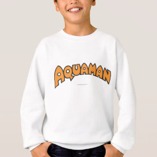Sweatshirt Logo d'orange d'Aquaman
