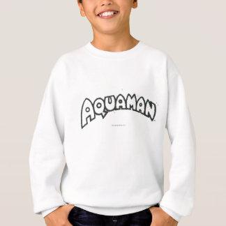 Sweatshirt Logo noir grunge 2 d'Aquaman