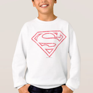 Sweatshirt Logo rouge d'ensemble du S-Bouclier | de Superman