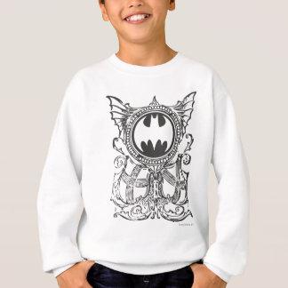 Sweatshirt Logo urbain de blanc de noir de légendes du