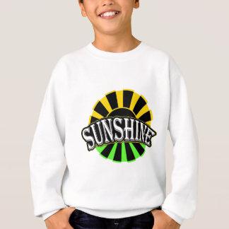 Sweatshirt Logo vert noir de soleil