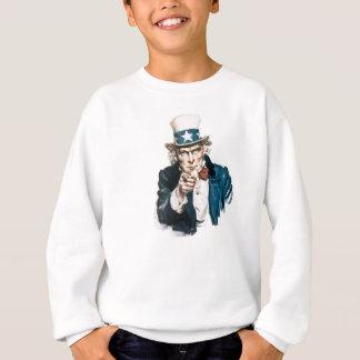 Sweatshirt L'Oncle Sam I veulent que vous customisiez avec