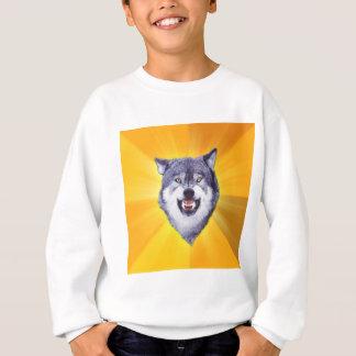 Sweatshirt Loup de courage