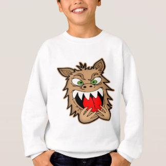 Sweatshirt Loup-garou aliéné