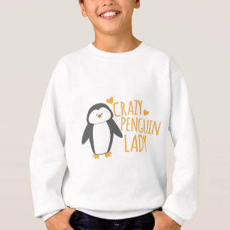 Sweatshirt Madame folle de pingouin