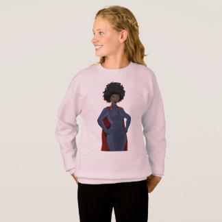 Sweatshirt Madame superhéros