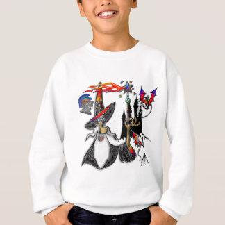Sweatshirt Magicien mystique magique de magicien du feu
