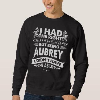 Sweatshirt Mais étant AUBREY je n'ai pas eu la capacité