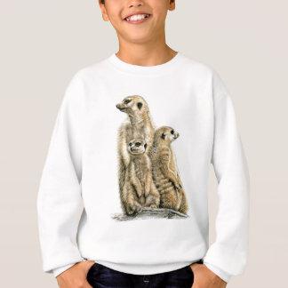 Sweatshirt Mâle de terre - Meerkats