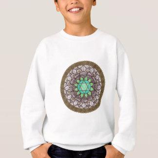 Sweatshirt Mandala de Chakra de coeur
