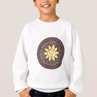 Sweatshirt Mandala de Chakra de plexus solaire