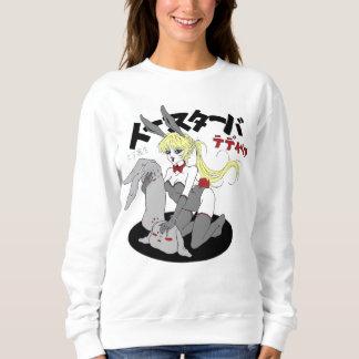 Sweatshirt manga rabbit girl sexy japan