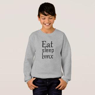 Sweatshirt Mangez le bmx de sommeil