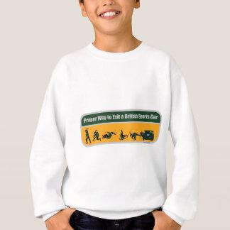 Sweatshirt Manière appropriée de sortir une voiture de sport