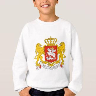 Sweatshirt Manteau de la Géorgie des bras