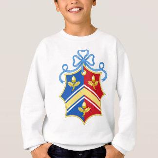 Sweatshirt Manteau de Middleton des bras/de la crête famille