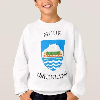 Sweatshirt Manteau de Nuuk des bras
