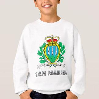 Sweatshirt Manteau du Saint-Marin des bras